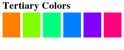 From The RGB Color Wheel